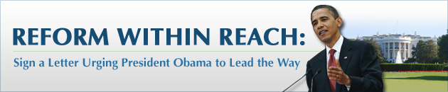 Obama Reform Within Reach CTA